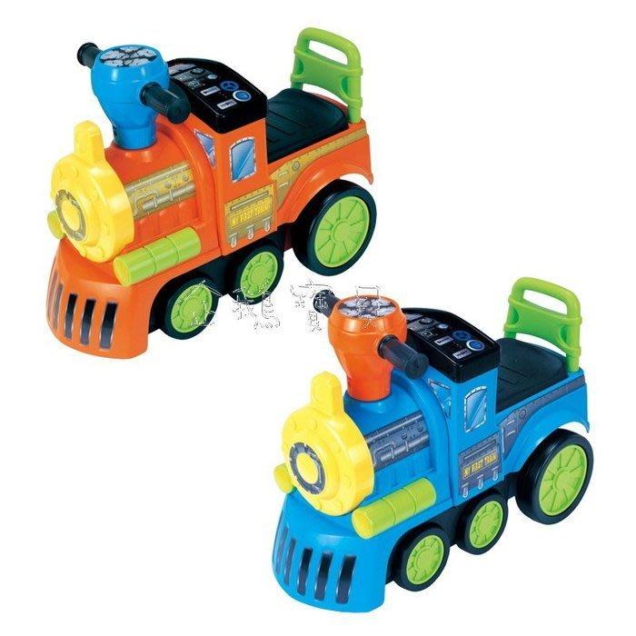 @企鵝寶貝二館@ EMC 伊買-音樂火車助步車/學步車/火車造型玩具助步車