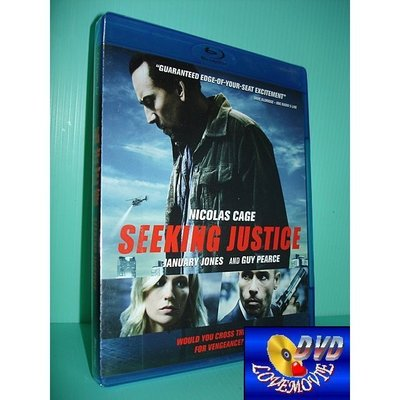 A區Blu-ray藍光台灣正版【私法正義Seeking Justice(2011)】DTS-HD [含中文字幕]全新未拆