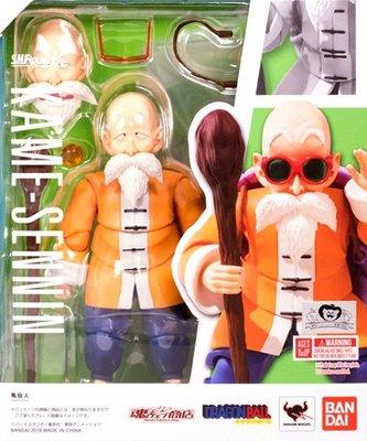 日本正版 萬代 七龍珠 S.H.Figuarts SHF 龜仙人 可動 模型 公仔 日本代購