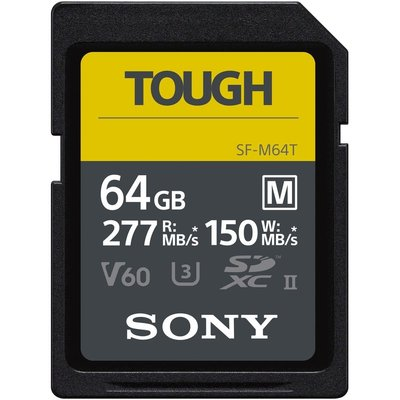 【高雄四海】SONY SF-M64T 64G SD全新公司貨.高速記憶卡.防水防塵耐候.限量特價.寫入150MB/s
