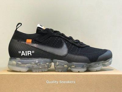 現貨 - Off-White x Nike Air VaporMax Flyknit 黑魂 12 AA3831-002