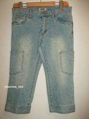 特價商品・I-87/USED<日本JKG JEANS 加工6分牛仔褲>64