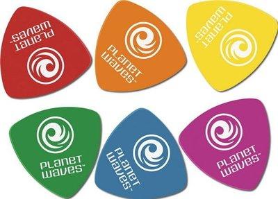 ☆ 唐尼樂器︵☆ Planet Waves Duralin 烏克麗麗/木吉他/電吉他/電貝斯 Bass Pick 大三角彈片