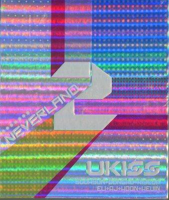 【嘟嘟音樂坊】U-Kiss Vol. 2 - Neverland   韓國版  (全新未拆封)