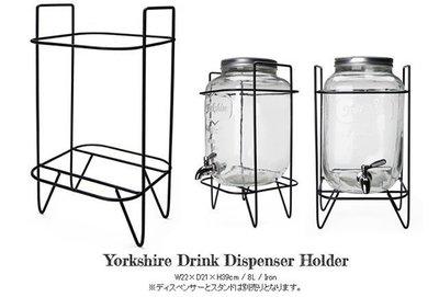[ Atelier Smile ] 鄉村雜貨 美式復古鐵皮玻璃冰桶 飲料桶 野餐 派對 8公升專用底座 兩款選 (現貨) 台北市