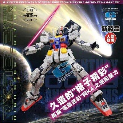 G-System GS-273 RX-78-2 卡版高達 高精密版 Gundam 手辦模型 model kit marvel ironman avengers