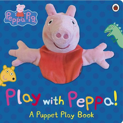 *小P書樂園* Peppa Pig: Play with Peppa Hand Puppet Book 粉紅豬大手偶