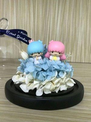 保鮮花 preserved flower 繡球 twin star 不凋花 sanrio 生日 情人節禮物