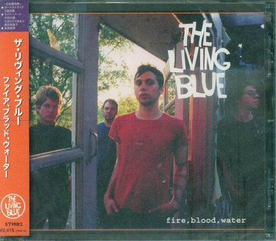 K - The Living Blue - Fire Blood Water - 日版 +2BONUS - NEW