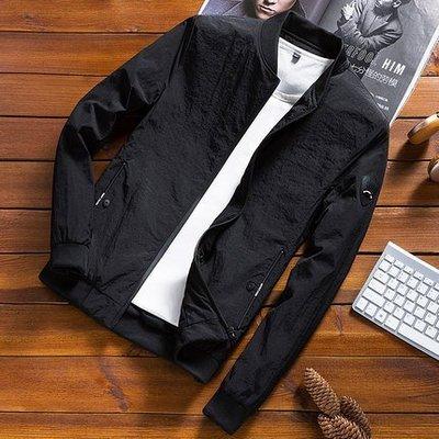 2018新款韓版男士潮流修身帥氣休閒衛衣夾克薄款外套 預購款