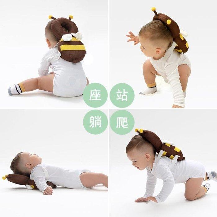 寶寶防摔學步走路護頭枕防後摔帽透氣嬰兒童夏季