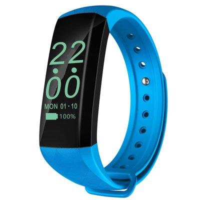 獨家販售M2Z智慧手環(天空藍)智慧手環心率監測微信運動計步手表ios安卓蘋果7