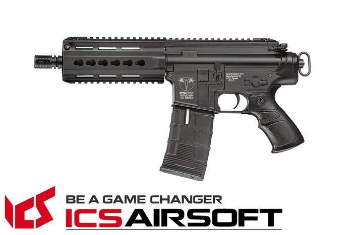 【翔準軍品AOG】ICS CXP-15 K手槍版(黑)Lightway 電動槍 生存遊戲 ICS-172