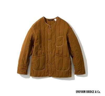 GOODFORIT / 韓國 UNIFORM BRIDGE Paded Pocket Jacket圓領軍裝剪裁夾克/兩色