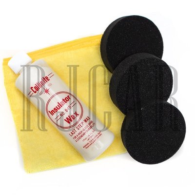 [KIT組]Collinite柯林845棕櫚蠟(約473ml)(附三塊黑色上蠟綿&一條下蠟纖維布)