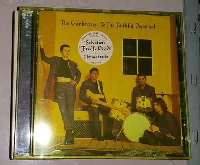 THE CRANBERRIES--TO THE FAITHFUL DEPARTED /2手