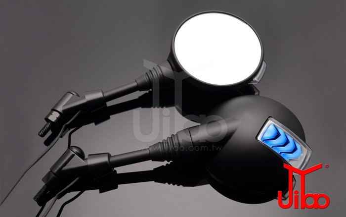 【吉燿部屋】JY002-M 藍光(光學藍鏡) 機車 LED後照鏡 方向燈 定位燈(光陽 三陽山葉 G6 T2 野狼)