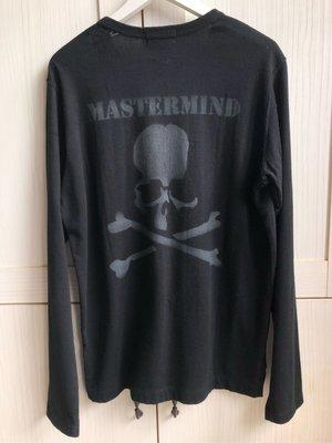 [mastermind JAPAN] 2012 AW New Order Series 黑色破壞長袖厚棉T恤