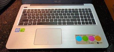 清倉【ASUS】華碩 K556UQ 藍(i5-7200U/ 4G/ 128SSD+1TB/ GT940/ W10/ FHD) 彰化縣