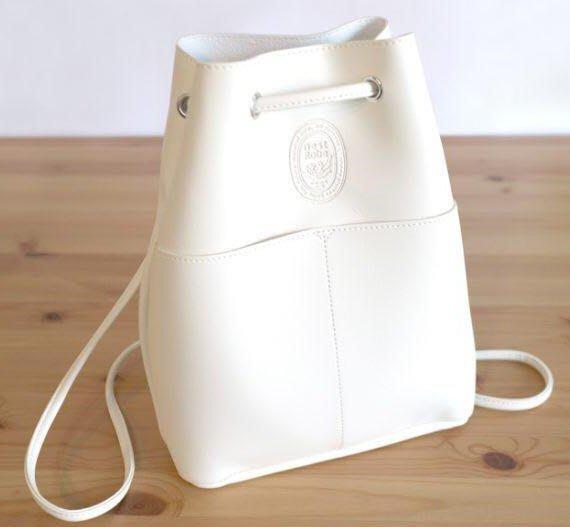 [瑞絲小舖]~日雜附錄nest Robe三用皮革背包 托特包 手提包 水桶包 肩背包 單肩包 側背包 後背包 抽帶雙肩包