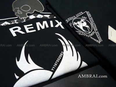 「AMBRAI.com」 REMIX x AES x T9G KAIJU DARKNESS 三方聯名 AES (左) 台中市