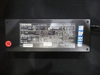 [創技電腦] TOSHIBA 原廠變壓器 型號:SEB100P2-15.0 15V 5A 二手良品 實品拍攝 F441