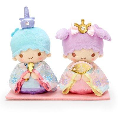 全新 日本代購 Sanrio Little Twin Stars 雙子星 雛祭公仔 22×9.5×17cm 正品 預購(旺角門市取貨)預訂貨品請先入數