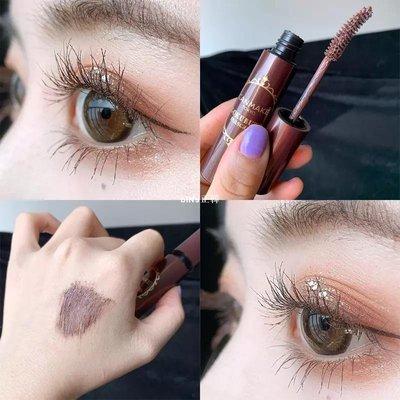 biNs韓國~日本 canmake睫毛膏06巧克力色睫毛膏棕色自然纖長不結塊持久卷翹