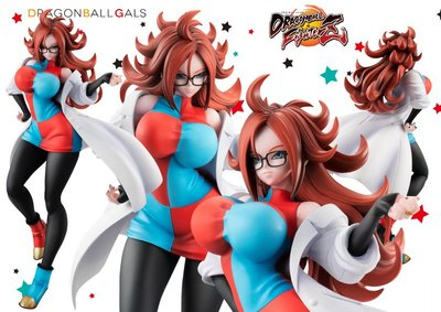 全新 行貨 MegaHouse Dragon Ball Gals 龍珠 Fighter Z 人造人 21號 研究員版本 Ver Android No. 21