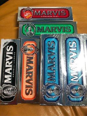 現貨 義大利 MARVIS 薄荷牙膏 85ml 多款可選 牙膏界的愛瑪仕