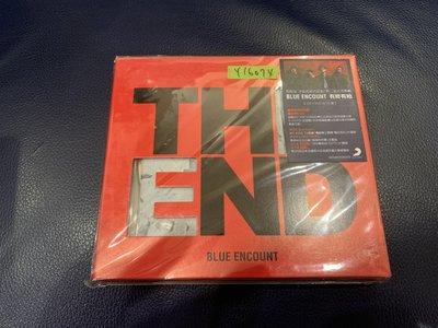 *還有唱片行*BLUE ENCOUNT / THE END CD+DVD 二手 Y16074
