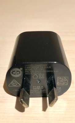 98%新 USB charger (model: UC11AU) 輸出 output 5v 1A 澳洲 / 大陸 8字插頭 (原價~$70)