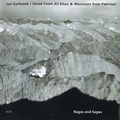 《絕版專賣》Jan Garbarek 楊葛伯瑞克 / Ragas and Sagas 浮翼 (德版.半銀圈)