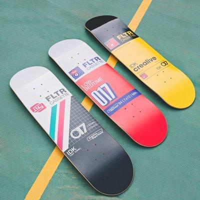 【Filter017】 X FRONT FLTR Cassette Series - Skateboard