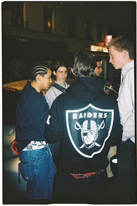 全新商品 Supreme 19SS NFL Raiders 47 Hooded Sweatshirt 連帽 長袖帽TEE