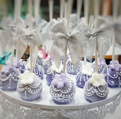 WeddingCake Candy Bar 80支組合 婚禮慶生派對棒棒糖蛋糕 POP Cake婚禮小物 二進小禮