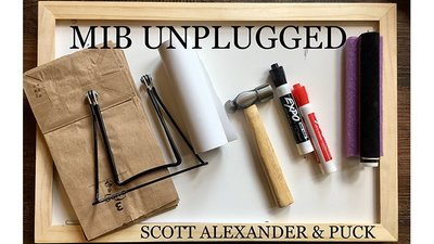 MIB UNPLUGGED (Gimmicks and Online Instructions) by Scott Al