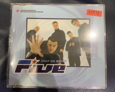 *還有唱片行*FIVE / KEEP ON MOVIN' 全新 Y9878 (69起拍)