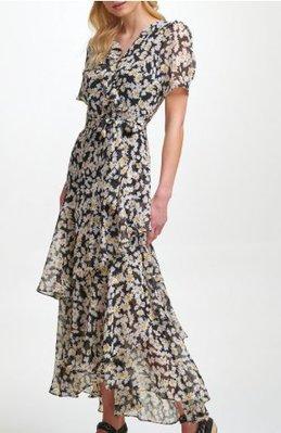 Karl Lagerfeld Paris Karl Lagerfeld Ruffled Maxi Dress