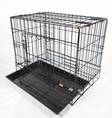 *優比寵物*1.5尺(黑色底盤)(活動褶疊式)靜電粉體烤漆兔籠/狗籠/貓籠/寵物籠-優惠價---台灣製造-
