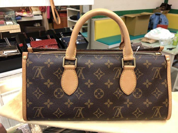 布蘭斯名牌館 * 專櫃真品 LV  M40009 金球手提包 ㊣店面貨有保障 實品拍攝