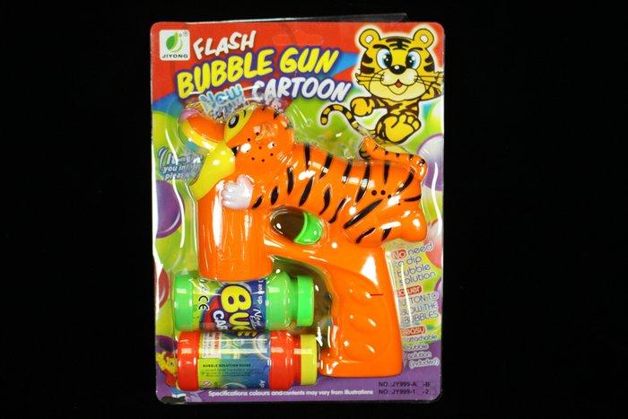 佳佳玩具 ----- 七彩全自動 老虎 閃光 泡泡槍 連續式泡泡槍 炫光槍 LED 自動泡泡槍 【CF97732】