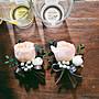 H26。季節限定。庭園玫瑰胸花。主婚人胸花。...