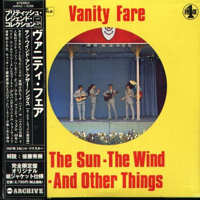 K - VANITY FARE The Sun Wind AND Other Things - 日版 - NEW