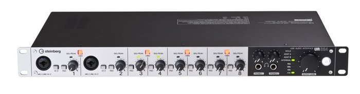 高傳真音響【 UR824 】USB電腦錄音介面 192K高品質│YAMAHA(Steinberg)
