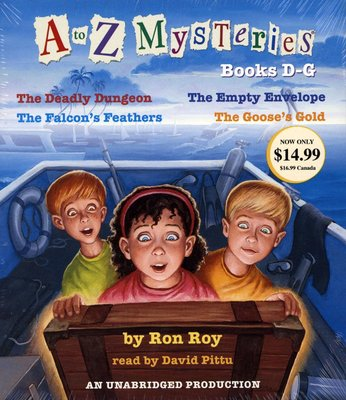 *小貝比的家*A TO Z MYSTERIES :BOOKS D-G /單3CDS /7~12歲