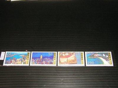 【愛郵者】〈中國大陸〉1995-25 香港風光名勝 4全 全品 原膠.未輕貼 直接買