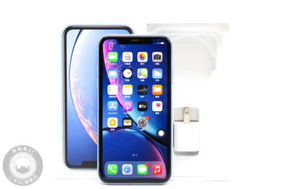 【台南橙市3C】APPLE IPHONE XR 64G 64GB 藍 6.1吋 IOS14.0 #58830