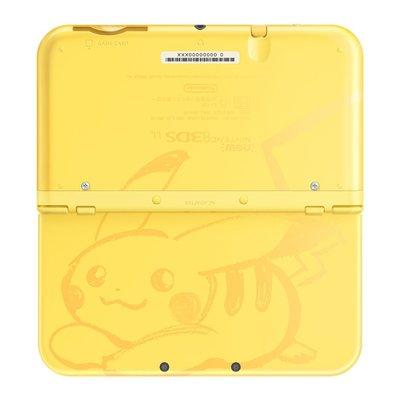 全新 寵物小精靈 比卡超 限定版 New 3DS XL 主機 (美國限定版)