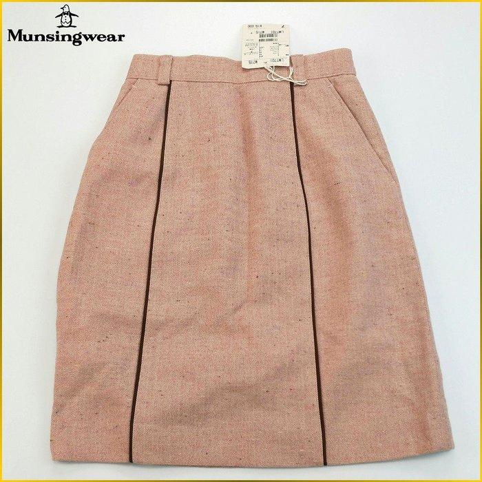 日本帯回✈️MUNSINGWEAR 日本製 新品 彈性 A字裙 雙口袋 羊毛混紡 高爾夫裙 企鵝牌 女裝 A5128M